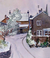 * How to Paint a Winter Street Scene