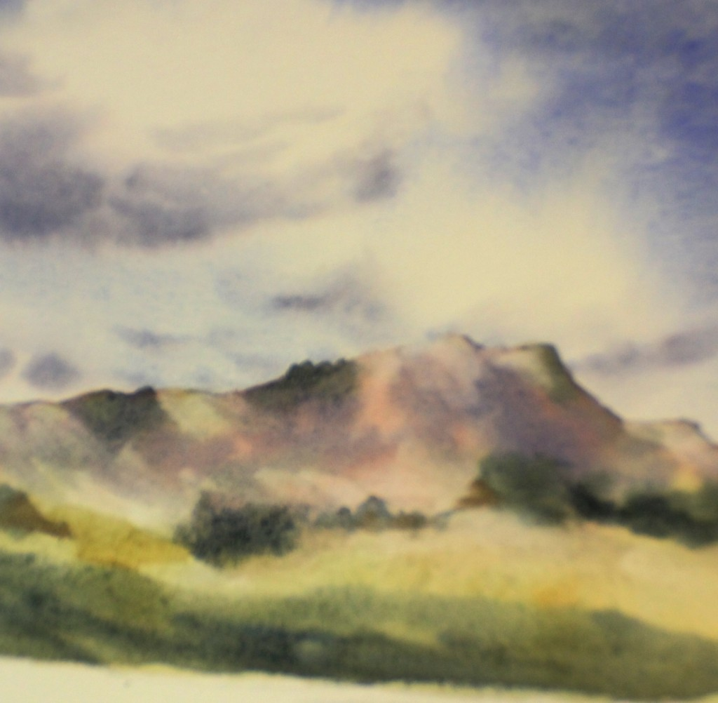 How To Paint Mountains | Watercolor Painting Lessons