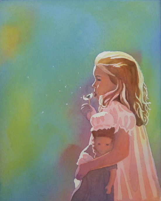 Painting by Elisabeth Macy, Lancaster, CA